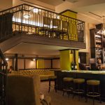 Boss Shepherd bar and dining area
