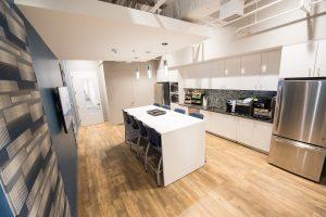Sentrillion kitchen area