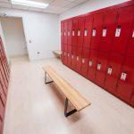 B Positive locker room