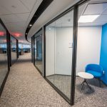 Trilogy Federal hallway with small meeting areas