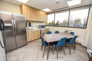 Advantia Health employee kitchen