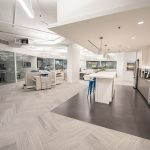 Scheer Partners common area with kitchenette