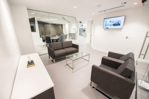 Scheer Partners waiting area