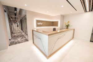 MV Financial receptionist desk