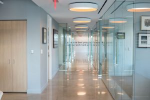 Roosevelt Group hallway
