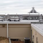 UMD Environmental Services Building rooftop