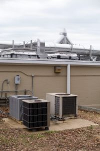 UMD Environmental Services Building rooftop equipment