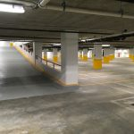 Verizon Baltimore Parking Garage entrance/exit ramp