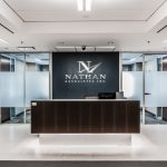 Nathan Associates lobby desk